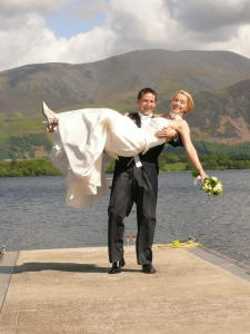 Fortunately Andy didn't throw Emma in and so saved his marriage from an early end!