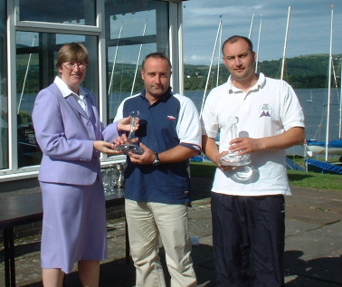 NW Area Enterprise Champs - Mark Lunn & Chris Parker with Jose Hodgkins