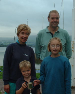 Brian, Liz, Matthew and Rebecca Springett