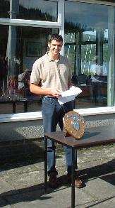 Laser Champ (& Asst Sailing Sec) Mark Somerville