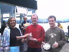 1st in silver fleet - Alistair and Andrew Rose