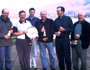 The winners from Derwent Reservoir